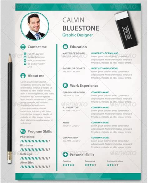 graphical resume template free mac resume template 44 free sles exles format