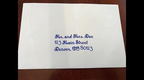 cricut design space   write  wedding envelopes