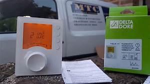 Delta Dore Tybox 117 : notice d 39 utilisation du thermostat delta dore youtube ~ Melissatoandfro.com Idées de Décoration