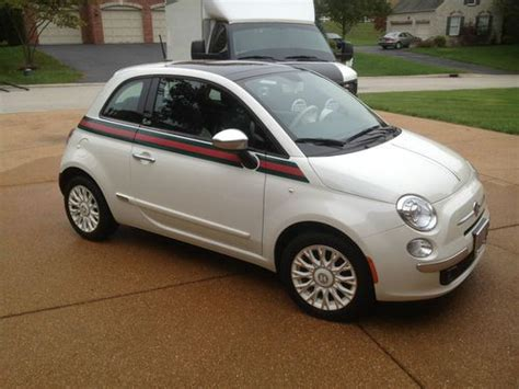 Gucci Fiat 500 For Sale by Purchase Used 2012 Fiat 500 Gucci In Albans