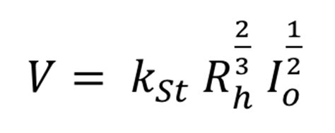 wasserbau gerinnehydraulik  berechnen