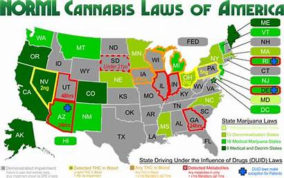 Marijuana States Legal America Weed Legalize Medical