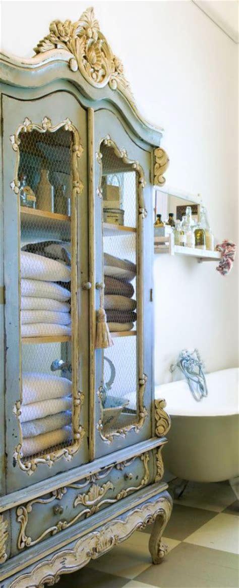 il perfetto armadio shabby chic  il bagno arredamento