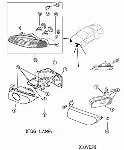 Eagle Talon Lamp  Fog  Right  Lamp Assembly