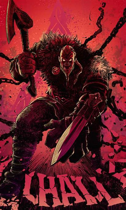 Creed Ragnar Lothbrok Valhalla 4k Artwork Wallpapers