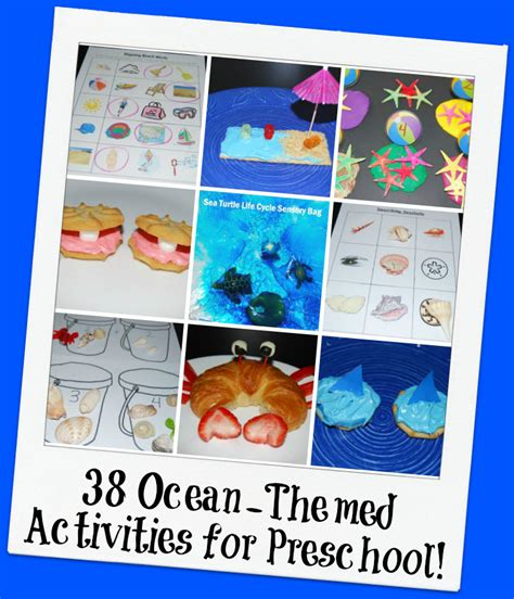 38 themed activities for preschool the preschool 639 | 38 Ocean Themed Activities for Preschool