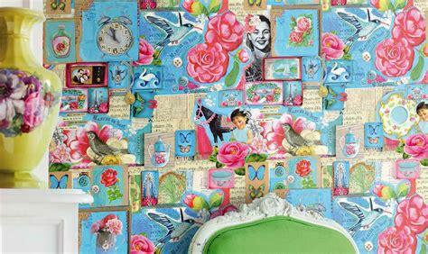 shabby chic wallpaper ideas shabby chic wallpaper mix n match patterned wallpaper shabby chic