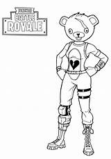 Fortnite Coloring Pages Battle Royale Printable Pdf Craft sketch template