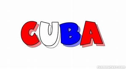 Cuba Logos Country Text Font Flamingtext
