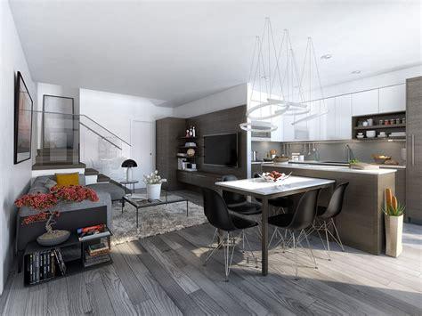 23 Open Concept Apartment Interiors For Inspiration 23 open concept apartment interiors for inspiration 6