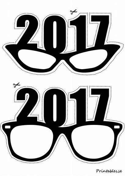 Booth Props Glasses Printables Photobooth Clipart Eve