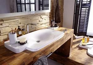 Waschtisch Aus Holz Für Aufsatzwaschbecken : waschtischplatte holz massiv ~ Sanjose-hotels-ca.com Haus und Dekorationen