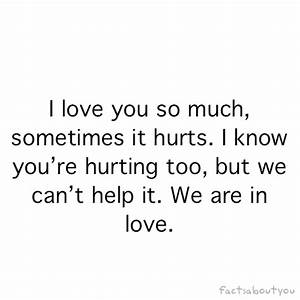 I Love You So Much It Hurts Quotes – Avalonit.NET