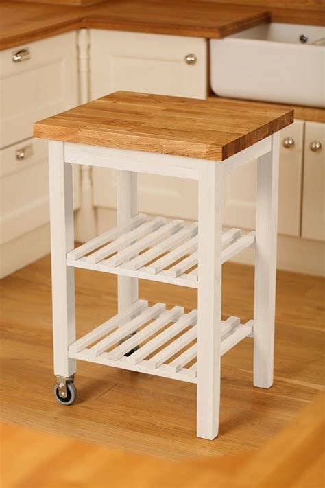 Kitchen Island Trolley & Wooden Kitchen Trolley   Solid