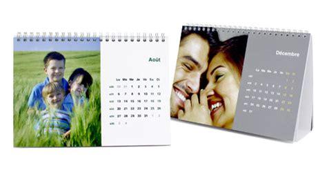 calendrier de bureau personnalisé calendriers bureau a5 tictacphoto
