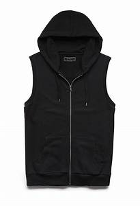 21men Sleeveless Hoodie in Black for Men | Lyst