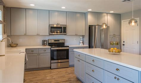 ash kitchen cabinets buy ash gray shaker rta cabinets with attractive