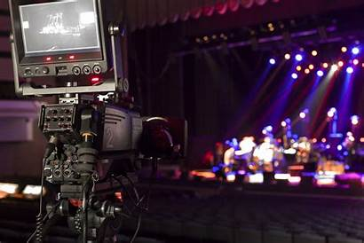 Stage Camera Concert Tv Shooting Hall Professional