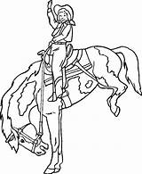 Coloring Pages Broncos Bronco Template Bsu Bucking Printable Horse sketch template