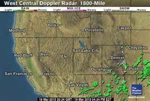 Doppler Radar Weather Map in Motion