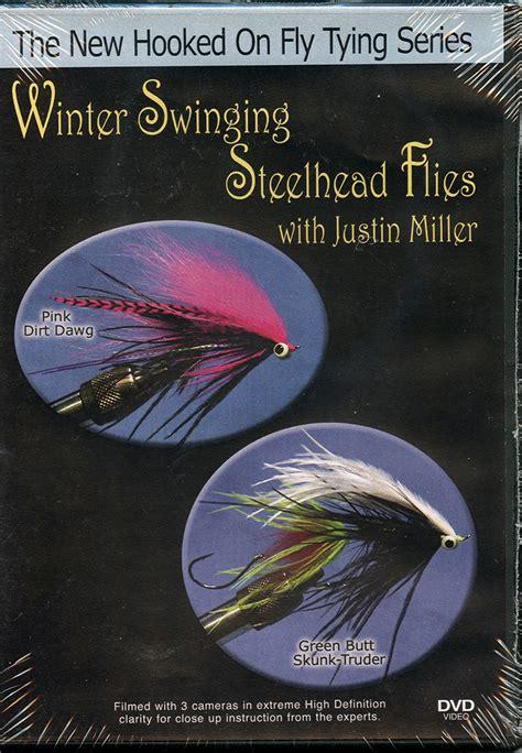 hooked  fly tying winter swinging steelhead flies