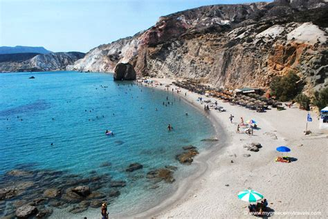 Firiplaka Beach In Milos Travel Greece Travel Europe