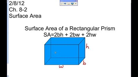 The Gallery For > Prism Surface Area Formula