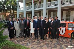 Ann Scott in NASCAR at Florida Governor's Mansion - Zimbio