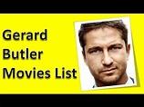 Gerard Butler Movies List - YouTube