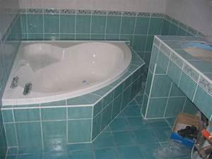 Habillage De Baignoire : salle de bain habillage baignoire et construction d 39 un ~ Premium-room.com Idées de Décoration