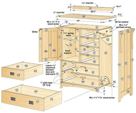 Simple Arts And Crafts Bed Plans Placement by Dresser Blueprints Arts And Crafts Dresser Woodworking