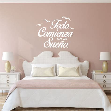 sticker citation chambre quote vinyl wall stickers bedroom wall decals