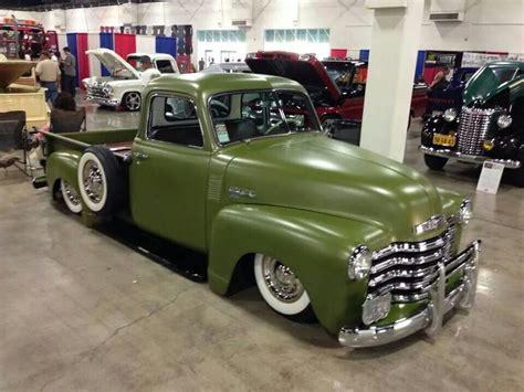 chevy chevrolet advanced design pick  truck  drab