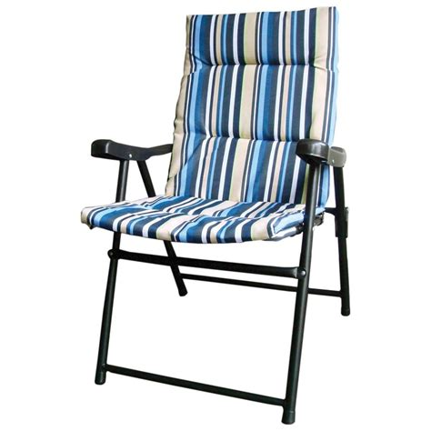 new padded folding outdoor garden cing picnic chair