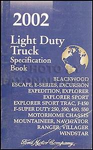 2002 Ford Ranger Wiring Diagram Manual Original