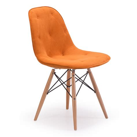 Zuo Modern Probability Orange Dining Chairs Dining Room