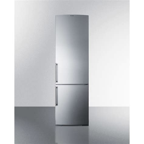 ffbfss summit   cuft counter depth bottom freezer refrigerator