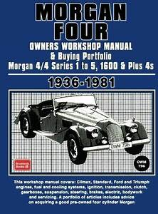 Morgan Four Owners Manual And Buying Guide 1936