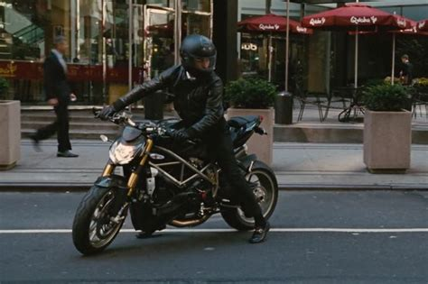 Ducati Streetfighter Motorcycle Driven By Shia Labeouf In