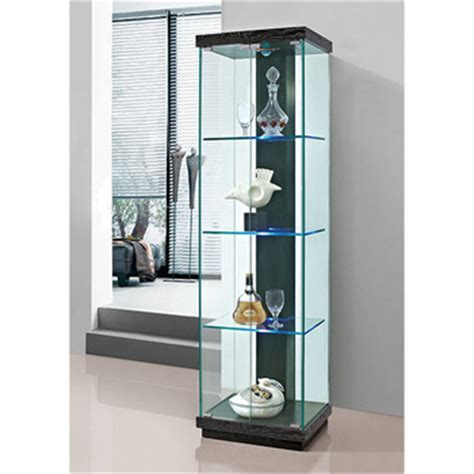 glass curio cabinet with lights glass curio cabinet led light modern led cabinet buy led