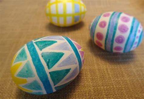œufs 101 comment faire des œufs de p 226 ques avec des marqueurs magiques 187 lesoeufs ca