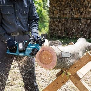 Makita Duc353z 35cm    14 Twin 18v Lxt Brushless Chainsaw