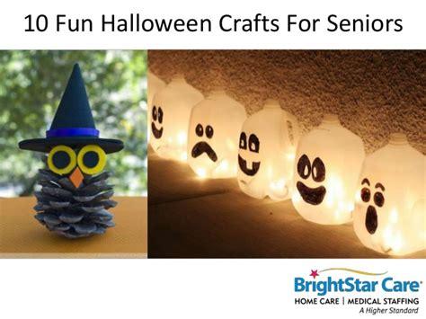 halloween crafts  seniors