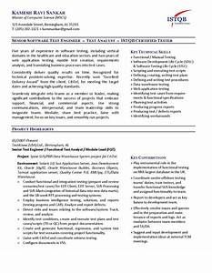 Software Engineer Cv Example It Software Engineer Resume Template Example