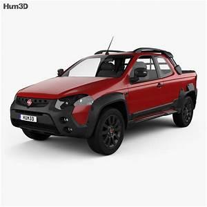 Fiat Strada Adventure Cd Extreme 2015 3d Model
