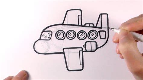 draw  cartoon plane youtube