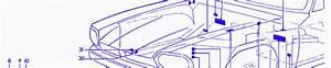 Jaguar Xjs 1989 Front Engine Fuse Box  Block Circuit