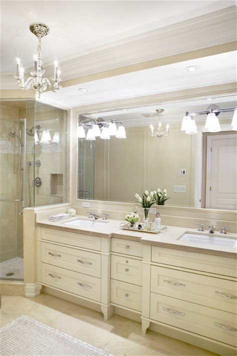 neutral master bath traditional bathroom toronto