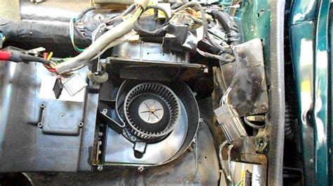 heater core removal  chrysler lebaron youtube