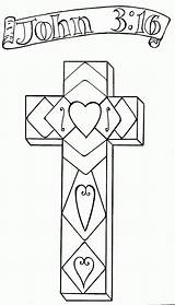 Coloring Easter Pages Religious John sketch template